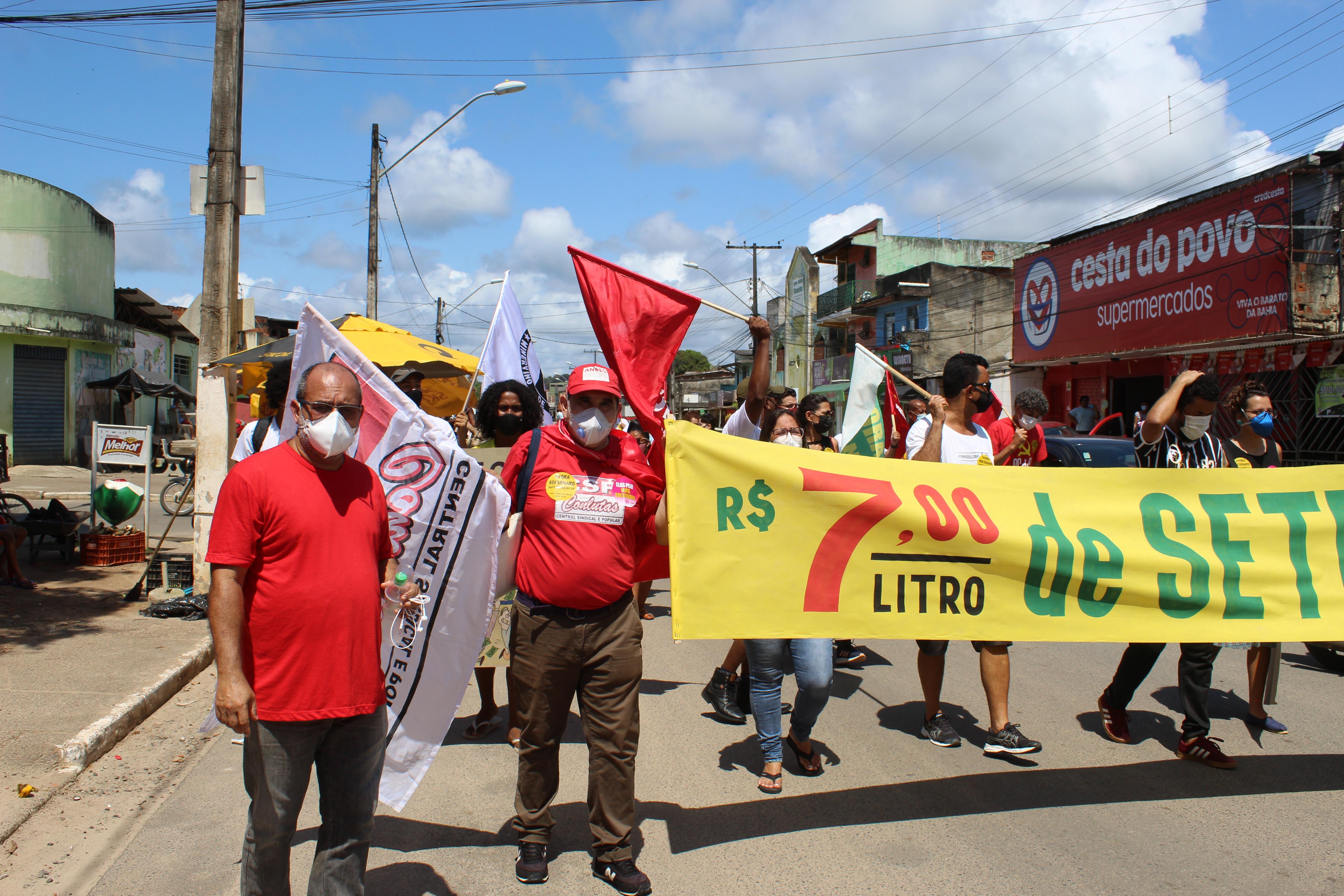 Ilhéus: No 7 de setembro, povo leva o Grito dos Excluídos às ruas