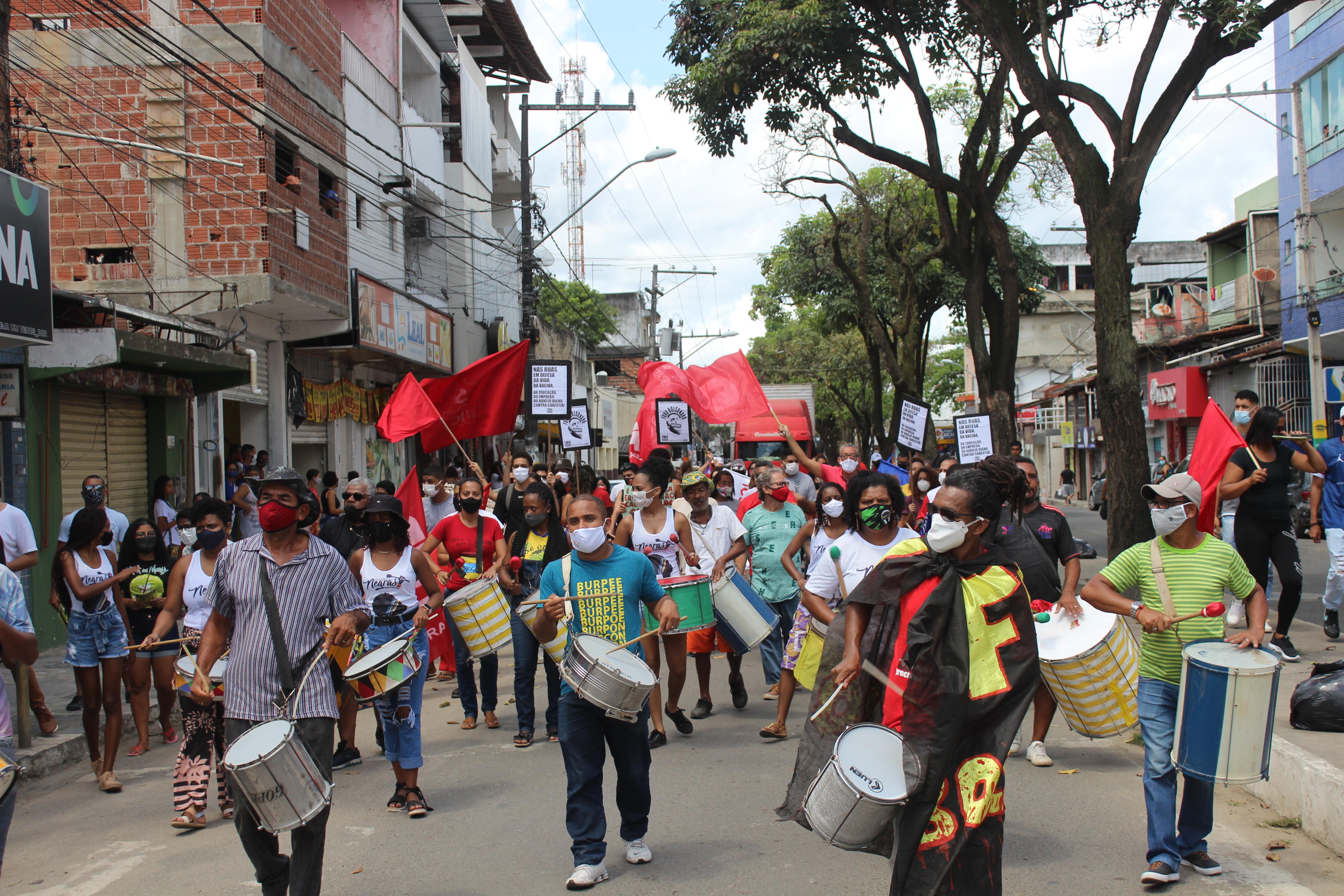 Itabuna: 7 de setembro de luta contra o governo Bolsonaro