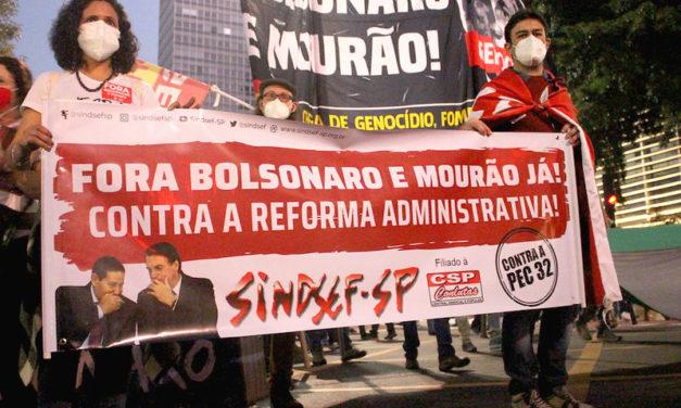 Em Brasília, servidores protestam contra Reforma Administrativa nesta terça-feira