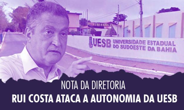 Governo da Bahia ataca autonomia da Uesb e nega concursos