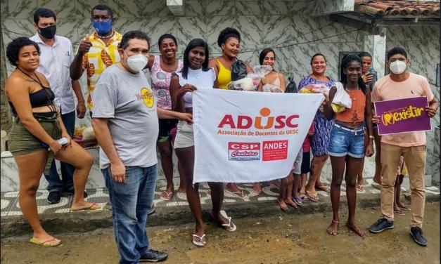 Doações da Campanha Prato Cheio beneficiam 50 famílias em Itabuna