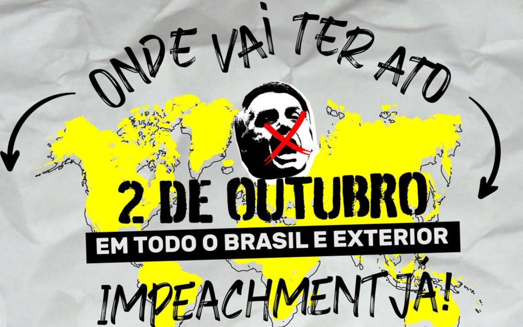 Dia 2: Mais de 200 atos já estão confirmados no Brasil e no mundo