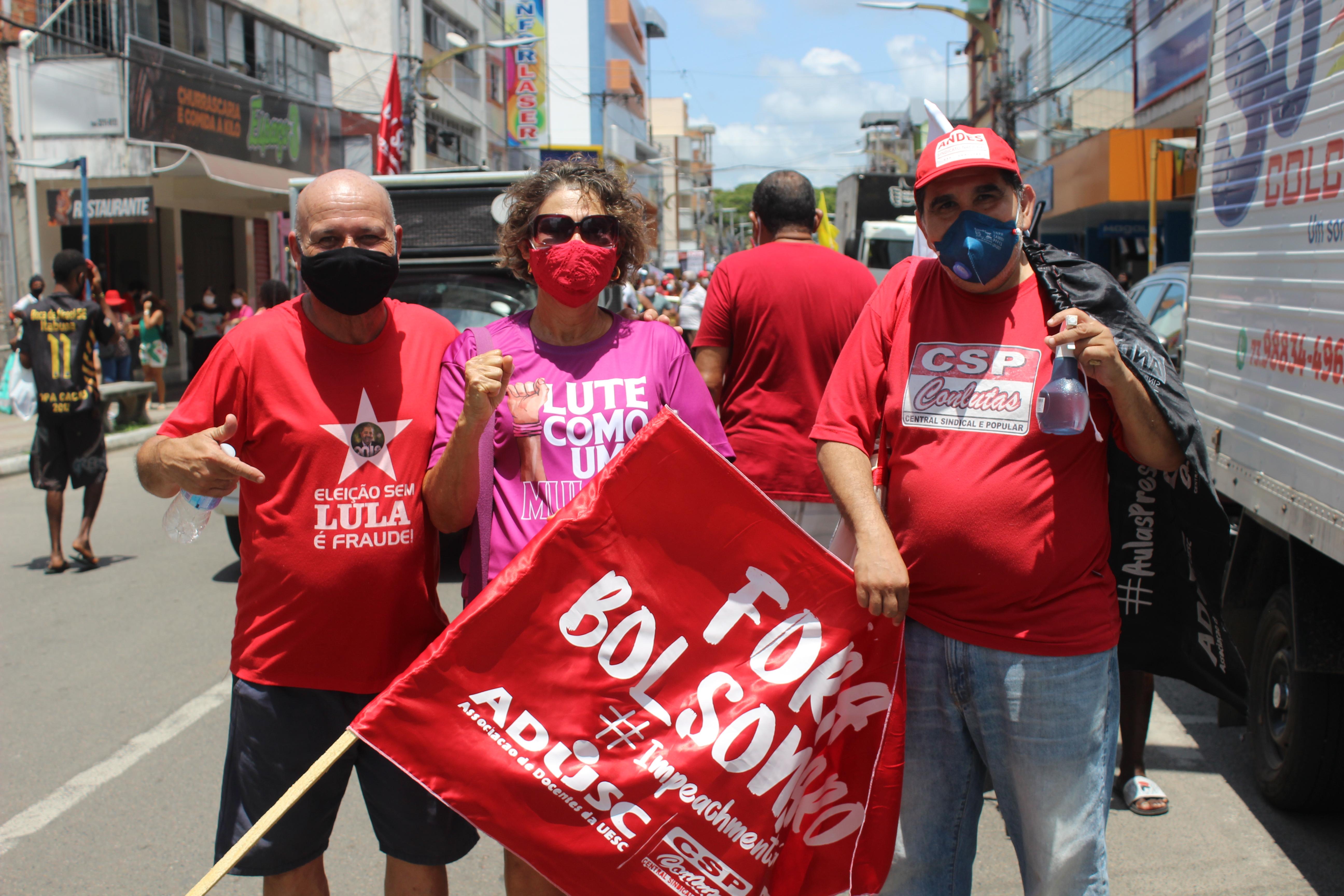Dia 2: Ato em Itabuna pelo Fora Bolsonaro